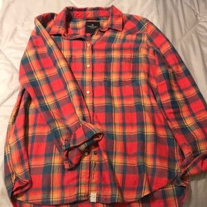AE BF Fit Flannel
